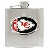 Kansas City Chiefs NFL 6 Oz. Stainless Steel Hip Flask