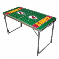 Kansas City Chiefs NFL Outdoor Folding Table