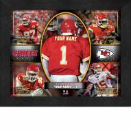 Kansas City Chiefs Personalized Framed Action Collage