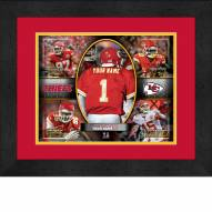 Kansas City Chiefs Personalized 13 x 16 Framed Action Collage