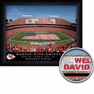 Kansas City Chiefs Personalized Framed Stadium Print