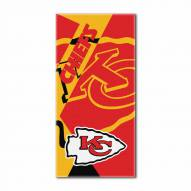 Kansas City Chiefs Puzzle Beach Towel