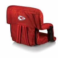 Kansas City Chiefs Red Ventura Portable Outdoor Recliner