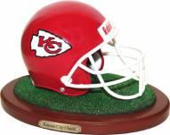 Kansas City Chiefs Replica Football Helmet Figurine