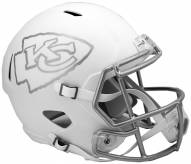 Kansas City Chiefs Riddell Speed Replica Ice Football Helmet
