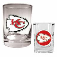 Kansas City Chiefs Frosted Pint Glass