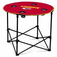 Kansas City Chiefs Round Folding Table