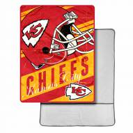 Kansas City Chiefs Sherpa Foot Pocket Blanket