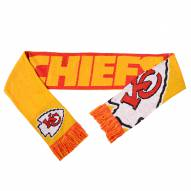 Kansas City Chiefs Split Logo Reverse Scarf