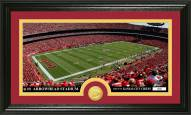 Kansas City Chiefs Stadium Bronze Coin Panoramic Photo Mint