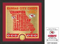 Kansas City Chiefs State Bronze Coin Photo Mint