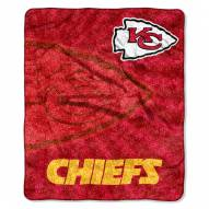 Kansas City Chiefs Strobe Sherpa Blanket