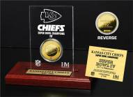 Kansas City Chiefs Super Bowl IV Etched Acrylic