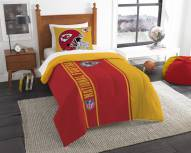 Kansas City Chiefs Twin Comforter & Sham Set