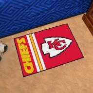 Kansas City Chiefs Uniform Inspired Starter Rug