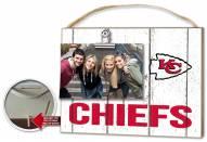 Kansas City Chiefs Weathered Logo Photo Frame