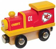 Kansas City Chiefs Wooden Toy Train