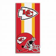 Kansas City Chiefs Zone Read Beach Towel