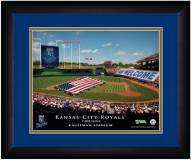 Kansas City Royals 13 x 16 Personalized Framed Stadium Print