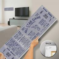 Kansas City Royals 1960 All Star Game Mega Ticket Canvas Art