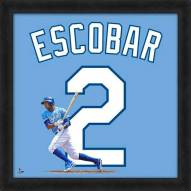 Kansas City Royals Alcides Escobar MLB Uniframe Framed Jersey Photo