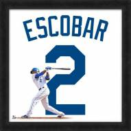 Kansas City Royals Alcides Escobar Uniframe Framed Jersey Photo