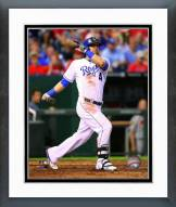 Kansas City Royals Alex Gordon 2014 Action Framed Photo
