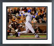 Kansas City Royals Alex Gordon 2014 World Series Action Framed Photo