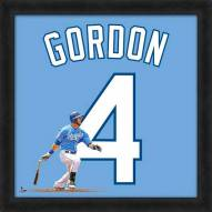 Kansas City Royals Alex Gordon MLB Uniframe Framed Jersey Photo