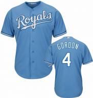 Kansas City Royals Alex Gordon Replica Atlantic Blue Baseball Jersey