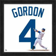 Kansas City Royals Alex Gordon Uniframe Framed Jersey Photo