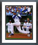 Kansas City Royals Alex Rios 2015 Action Framed Photo