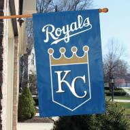 Kansas City Royals Appliqué 2-Sided Banner Flag