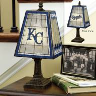 Kansas City Royals Art Glass Table Lamp