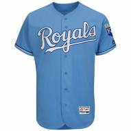 Kansas City Royals Authentic Atlantic Blue Alternate Baseball Jersey