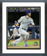 Kansas City Royals Ben Zobrist 2015 Action Framed Photo
