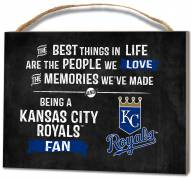 Kansas City Royals Best Things Small Plaque