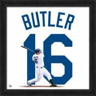 Kansas City Royals Billy Butler Uniframe Framed Jersey Photo