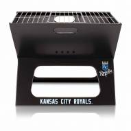Kansas City Royals Black Portable Charcoal X-Grill