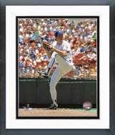 Kansas City Royals Bret Saberhagen Action Framed Photo