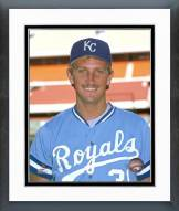 Kansas City Royals Bret Saberhagen Posed Framed Photo