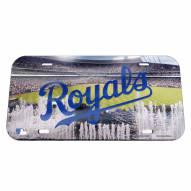 Kansas City Royals Crystal Mirror License Plate