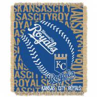 Kansas City Royals Double Play Jacquard Throw Blanket
