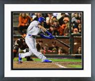 Kansas City Royals Eric Hosmer Game 3 of the 2014 World Series Action Framed Photo
