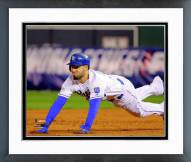 Kansas City Royals Eric Hosmer Game 6 of the 2014 World Series Action Framed Photo