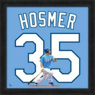 Kansas City Royals Eric Hosmer MLB Uniframe Framed Jersey Photo