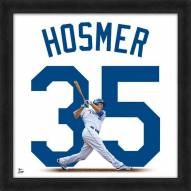 Kansas City Royals Eric Hosmer Uniframe Framed Jersey Photo