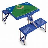 Kansas City Royals Folding Picnic Table