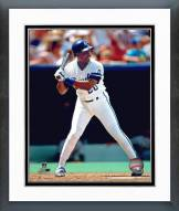 Kansas City Royals Frank White Action Framed Photo