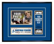 Kansas City Royals Game Day Ticket Frame